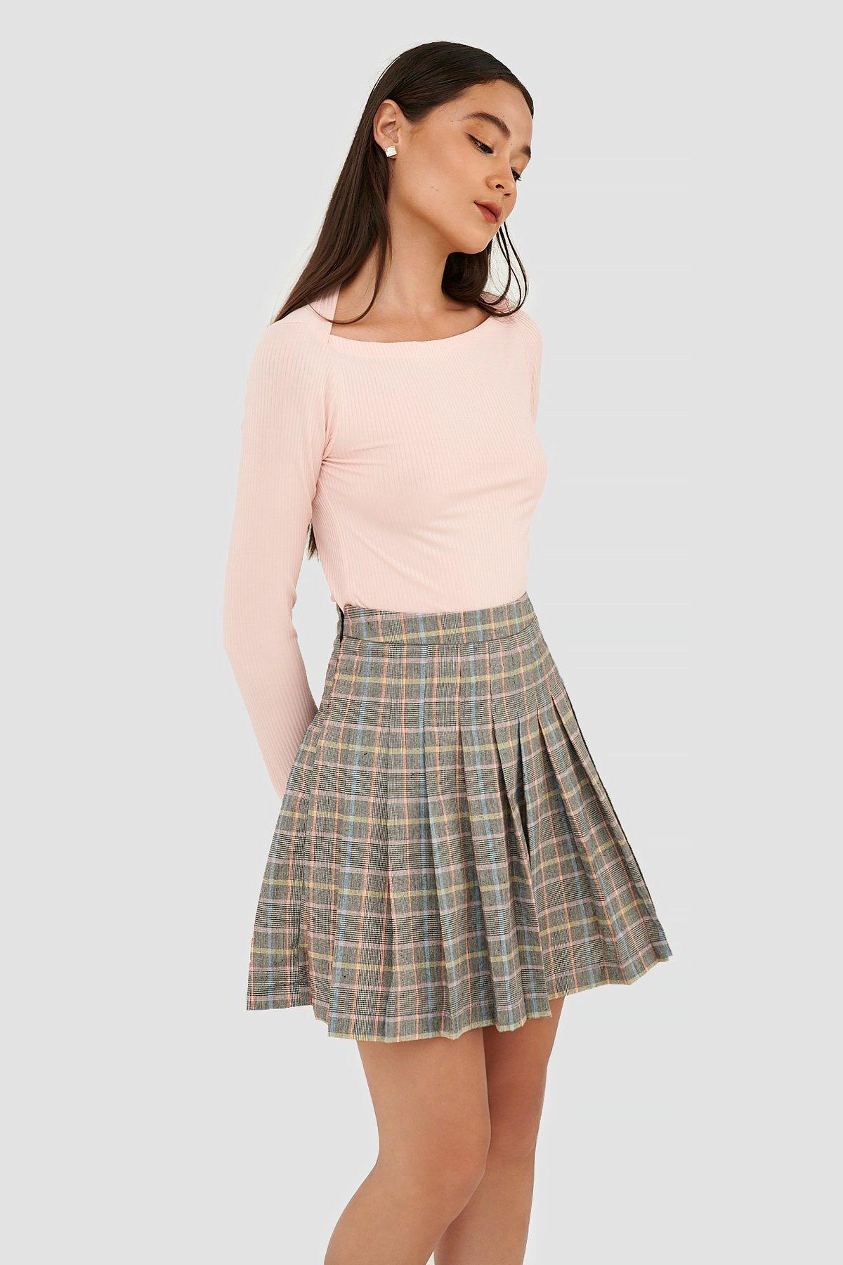 Váy tennis mini xếp ly  chân váy xếp ly ngắn 1