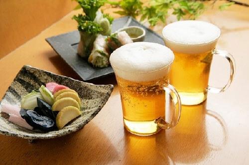 cách chăm sóc da bằng bia