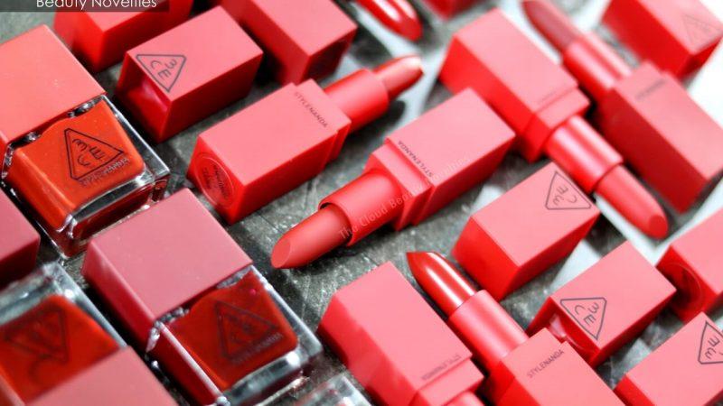 son lì Hàn Quốc 7. Son 3CE Red Recipe New – Son Lì Hàn Quốc Đẹp
