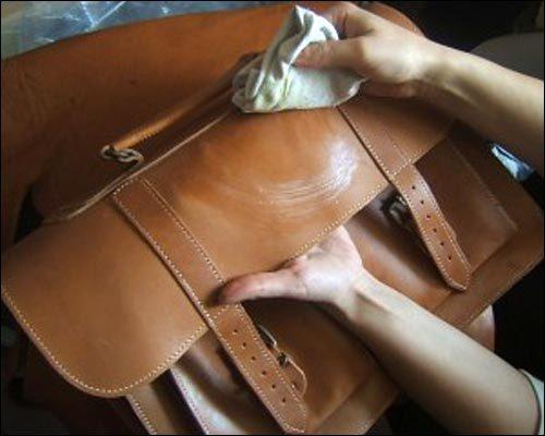 cách làm sạch túi da